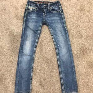 Straight leg Nancy rock revival size 24